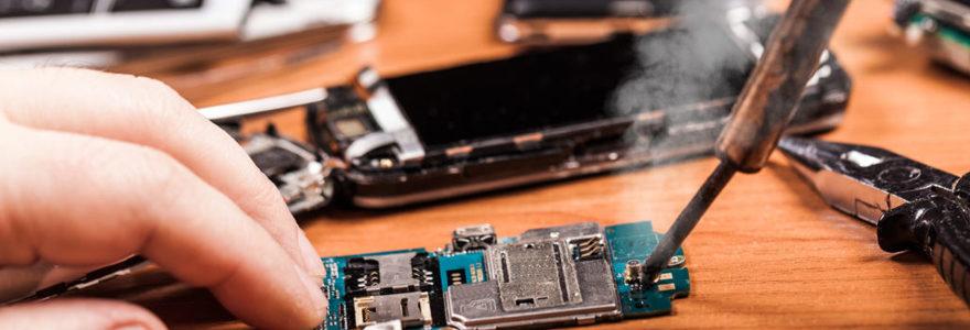 réparer son téléphone